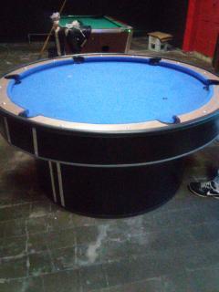 Mesa De Pool Redonda Mesas De Pool Af Billares