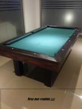 Mesa de pool madera maciza eucapino