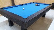 Mesa de pool madera maciza euca azul