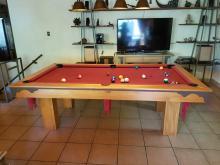 mesa de pool cedriño