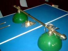 Lámpara de pool Oval